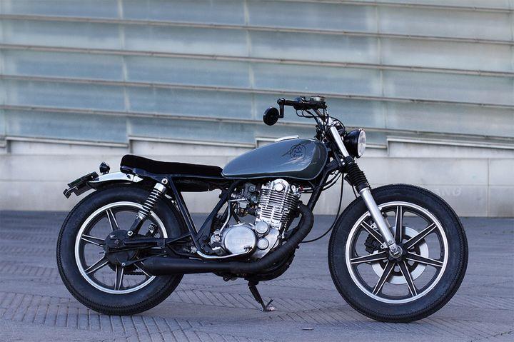 Yamaha SR500 Brat Style by Cafe Racer SSpirit 1