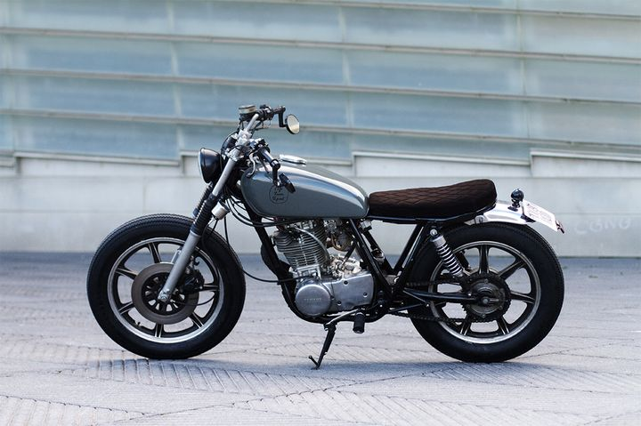 Yamaha SR500 Brat Style by Cafe Racer SSpirit 2