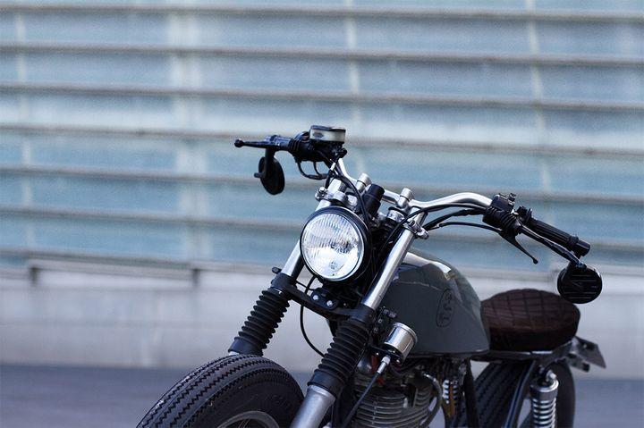 Yamaha SR500 Brat Style by Cafe Racer SSpirit 3