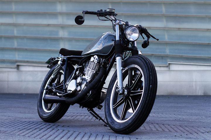 Yamaha SR500 Brat Style by Cafe Racer SSpirit 5