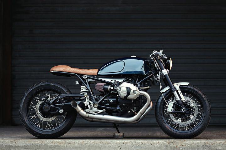 Bmw r ninet cafe racer clutch custom motorcycles for Garage yamaha paris