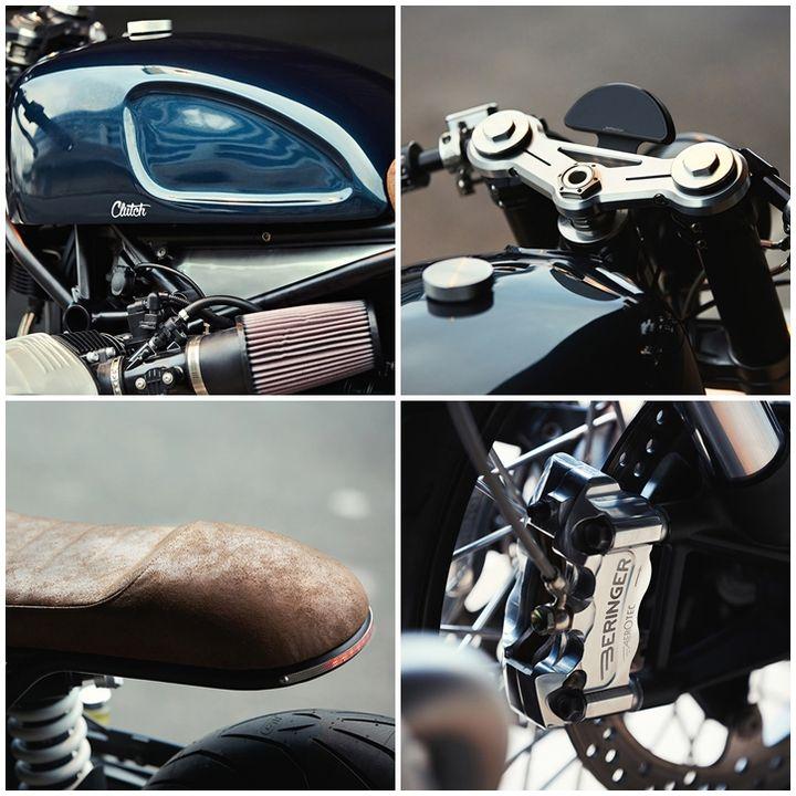 BMW R nineT Cafe Racer - Clutch Custom Motorcycles 3