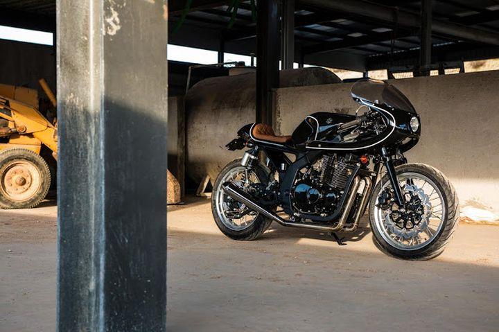 Suzuki GS500 Cafe Racer - H2 Moto 5