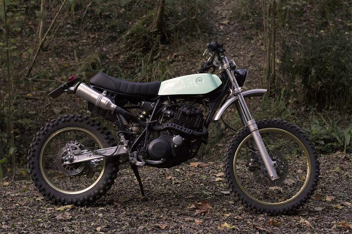 Yamaha XT 600 Scrambler - Cafe Racer SSpirit 1