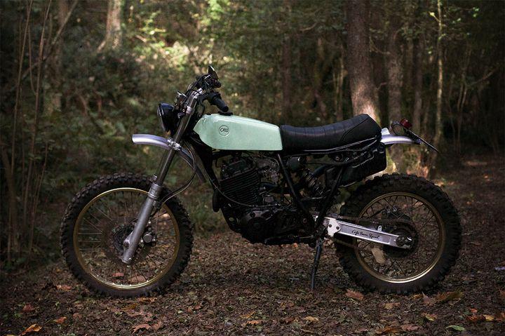 Yamaha XT 600 Scrambler - Cafe Racer SSpirit