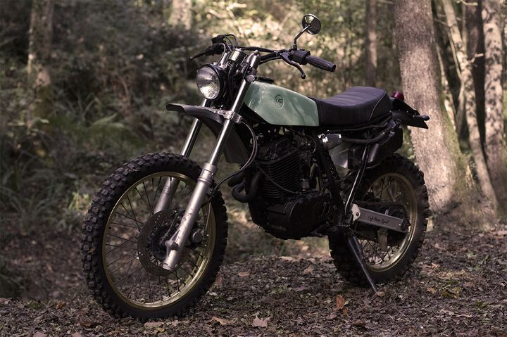 Yamaha XT 600 Scrambler - Cafe Racer SSpirit 4