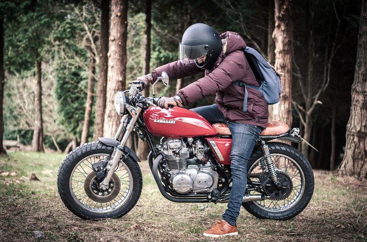 Kawasaki KZ400 Brat Style