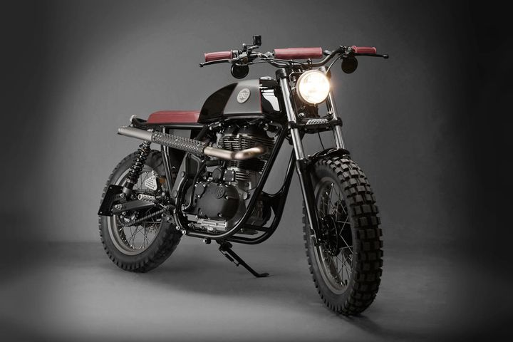 Royal Enfield Scrambler - Analog Motorcycles 1