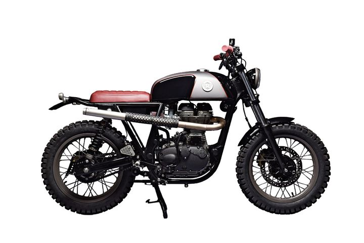 Royal Enfield Scrambler - Analog Motorcycles 2