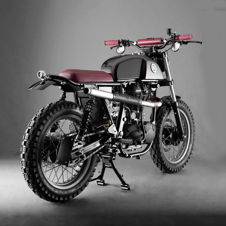Royal Enfield Scrambler - Analog Motorcycles 4