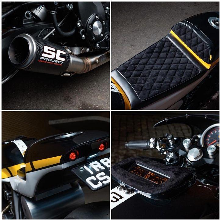Yamaha VMAX Cafe Racer - it roCkS!bikes 3