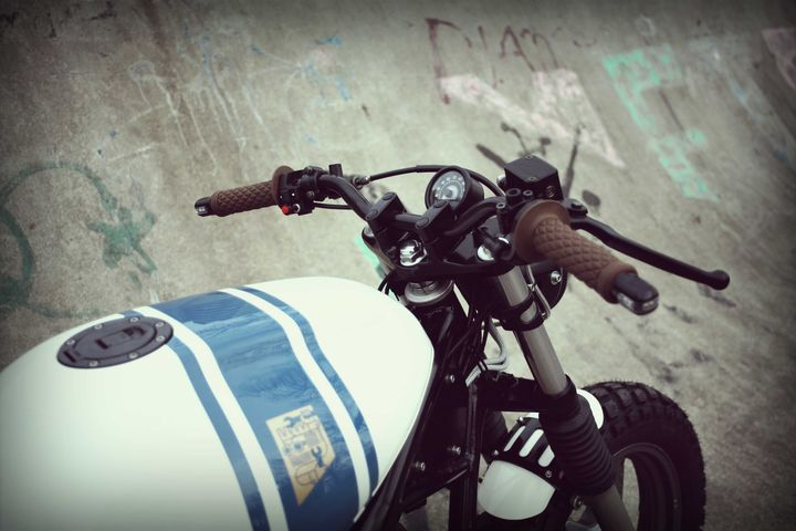 Yamaha XJ600 Diversion Street Tracker - Wrench Kings 3