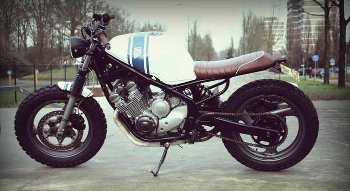 Yamaha XJ600 Diversion Street Tracker - Wrench Kings 4