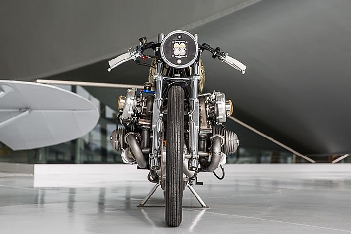 BMW R100 Bobber con turbo - Boxer Metal 2