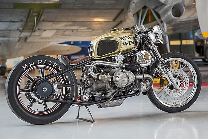 BMW R100 Bobber con turbo - Boxer Metal 4