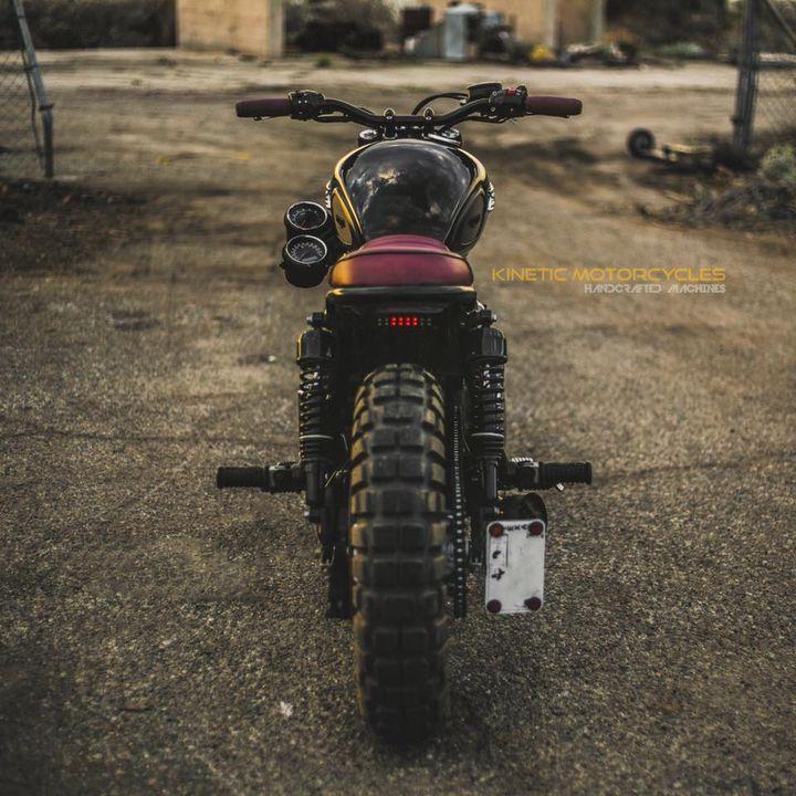 Triumph Bonneville T100 Scrambler by Kinetic Motorcycles 3