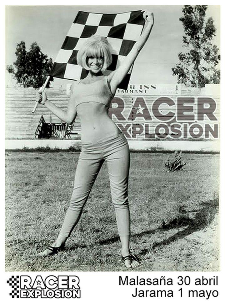 Mari Carmen Racer Explosion