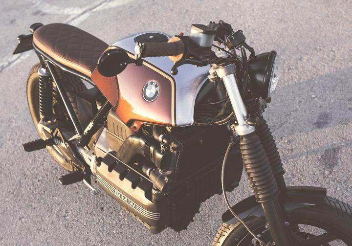 """BMW K100 """"La Malagueña"""" by Cafe Racer Pasión (8)"""