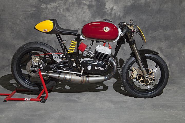 Bultaco Mercurio 125 Cafe Racer Clandestina - XTR Pepo 1