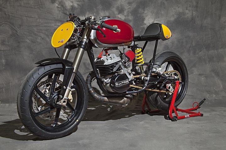 Bultaco Mercurio 125 Cafe Racer Clandestina - XTR Pepo 2