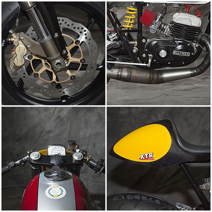 Bultaco Mercurio 125 Cafe Racer Clandestina - XTR Pepo 3