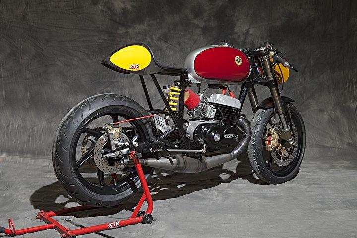 Bultaco Mercurio 125 Cafe Racer Clandestina - XTR Pepo 4