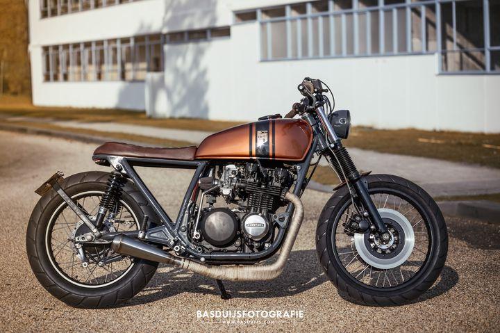 Kawasaki Z650 Brat Style by Wrench Kings 1