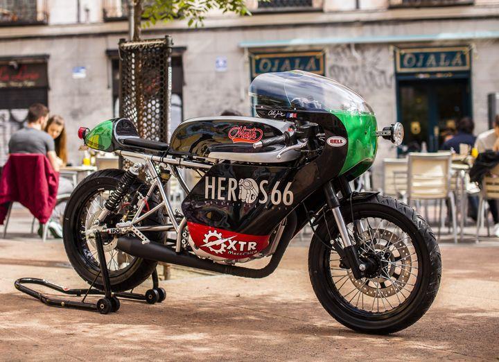 MASH 250 Cafe Racer Café Noir 2016 - XTR Pepo
