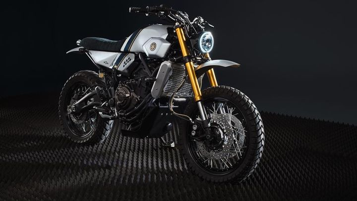 Yamaha XSR700 Street Tracker - Bunker Custom Motorcycles 2