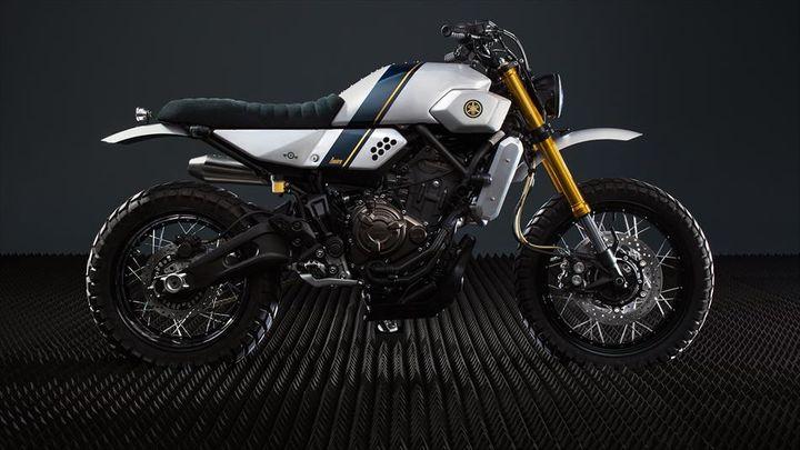 Yamaha XSR700 Street Tracker - Bunker Custom Motorcycles 4