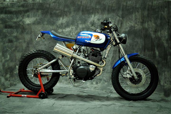 Yamaha SR250 Special Street Tracker - XTR Pepo 1
