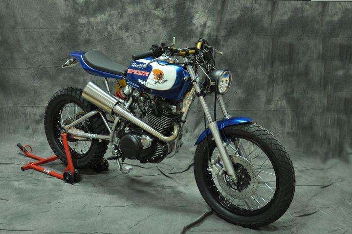Yamaha SR250 Special Street Tracker - XTR Pepo 4
