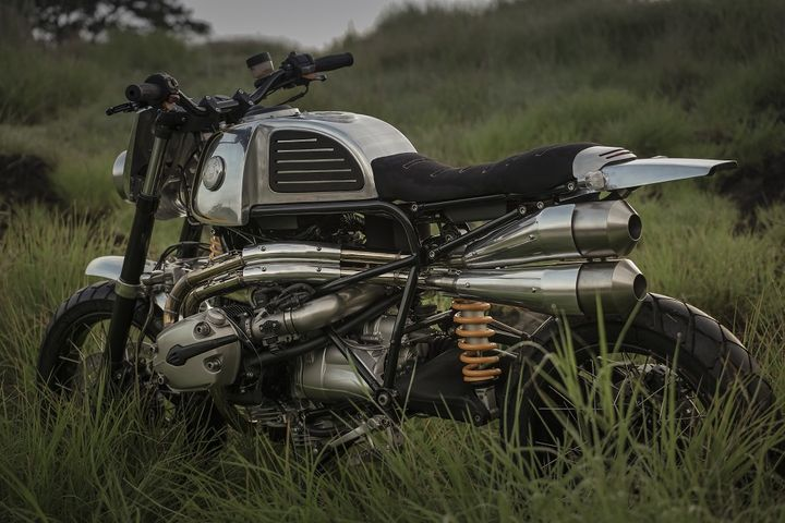 BMW R1200GS Scrambler by Benjie's Cafe Racer 1