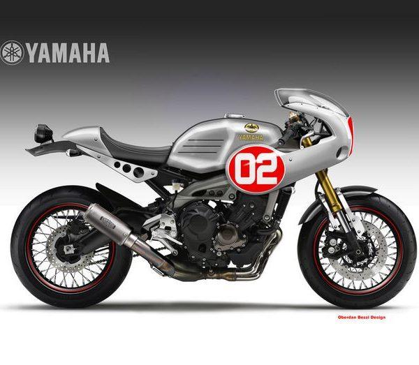 Yamaha XSR900 Cafe Racer – Oberdan Bezzi