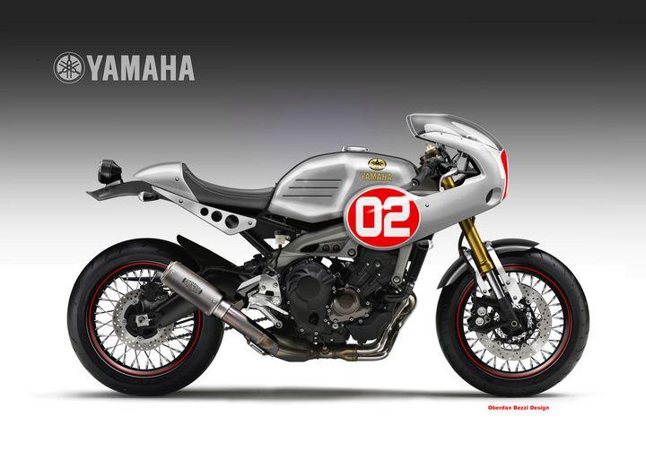 Yamaha XSR900 Cafe Racer - Oberdan Bezzi
