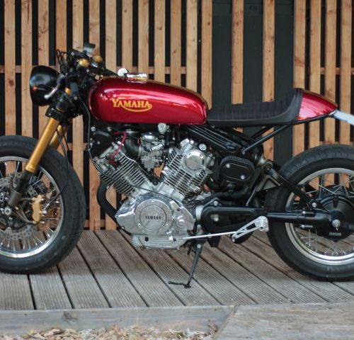 Yamaha XV 750 Virago Cafe Racer by Jean-Pierre​