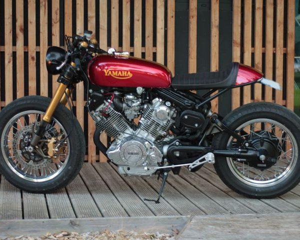 Yamaha XV 750 Virago Cafe Racer by Jean-Pierre