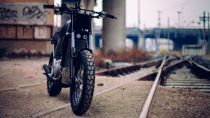 Aprilia Moto 6.5 Street Tracker - Imbarcadero14 Venice 4