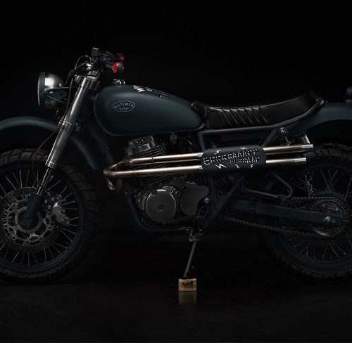Honda CB400SS Scrambler - Butcher Garage 1