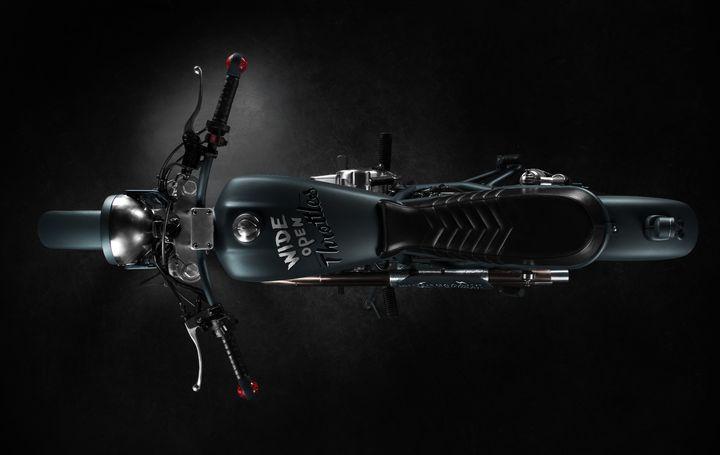 Honda CB400SS Scrambler - Butcher Garage 2