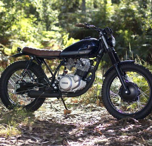 Yamaha SR 250 Street Tracker - Trinta&Um Motorcycles