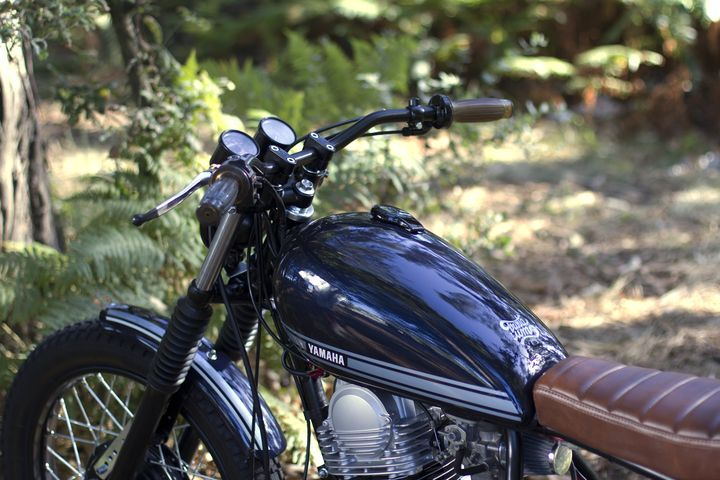 Yamaha SR 250 Street Tracker - Trinta&Um Motorcycles 2