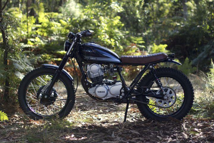 Yamaha SR 250 Street Tracker - Trinta&Um Motorcycles 3