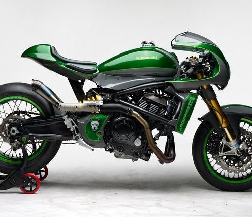 Kawasaki Vulcan S Cafe Racer ''The Underdog'' by Höly & Warm-Up