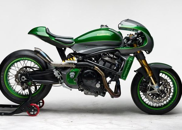 "Kawasaki Vulcan S Cafe Racer ""The Underdog"" by Höly & Warm-Up"