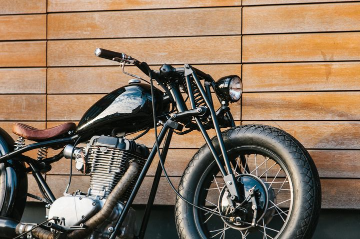 "Suzuki Savage Bobber ""O/2"" by 53 Fast Living 4"