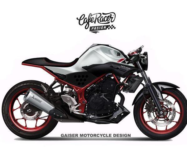 Yamaha MT-03 Cafe Racer ¿Es posible tenerla?