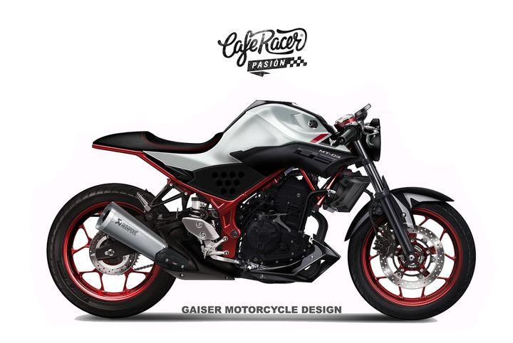 Yamaha MT-03 Cafe Racer