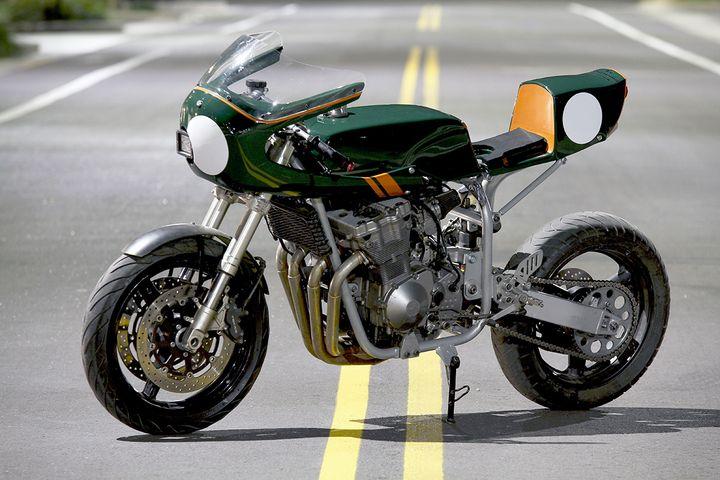 Suzuki Bandit Cafe Racer by Moto8ight