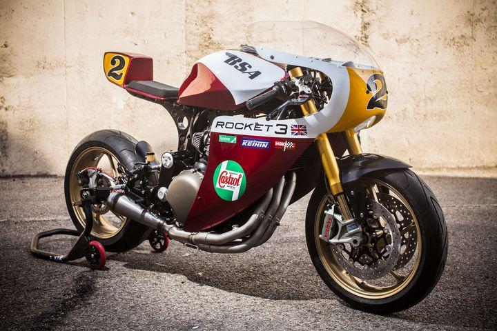 Triumph Legend TT 900 Cafe Racer por XTR Pepo
